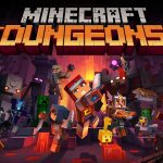 minecraft-dungeons-game-poster